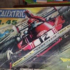 Scalextric: LOTE DE SCALEXTRIC PISTAS Y COCHES SR-45 (VER FOTOS). Lote 107825827