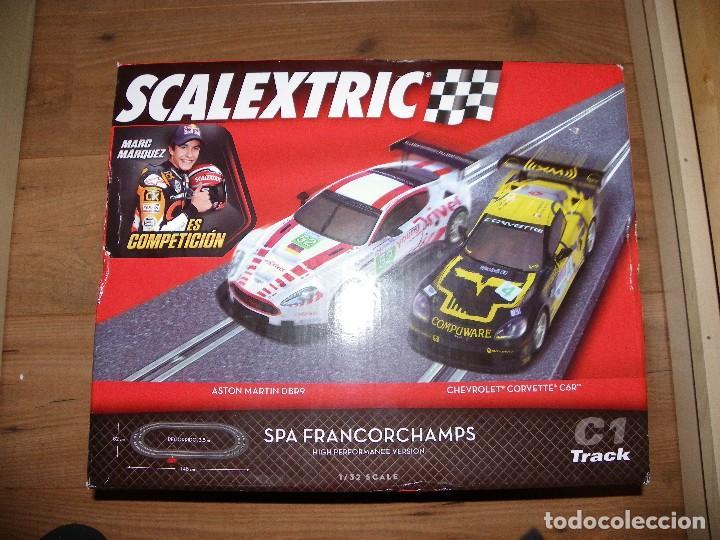 SCALEXTRIC. CIRCUITO C1 SPA FRANCORCHAMPS CON LAS NUEVAS PISTAS DIGITALIZABLES (Juguetes - Slot Cars - Scalextric Pistas y Accesorios)