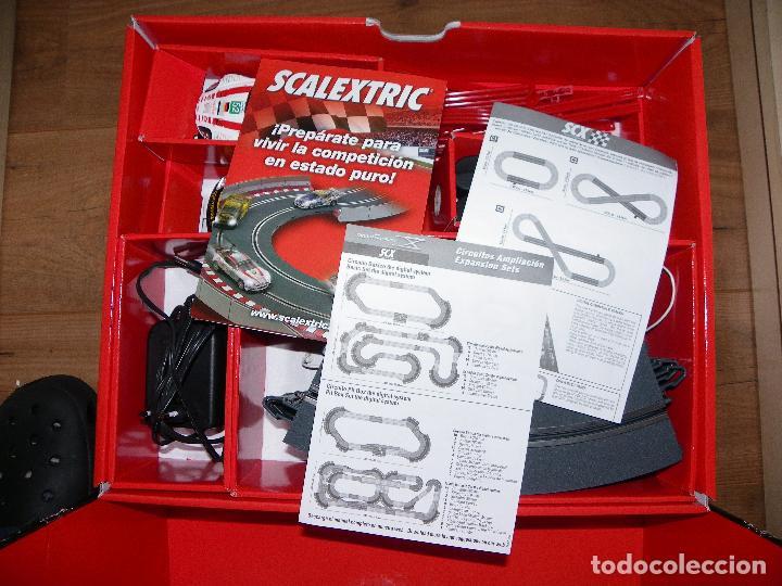 Scalextric: SCALEXTRIC. CIRCUITO C1 SPA FRANCORCHAMPS CON LAS NUEVAS PISTAS DIGITALIZABLES - Foto 3 - 64186551