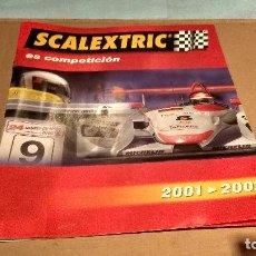 Scalextric: FOLLETO PUBLICIDAD SCALEXTRIC TECNITOYS 2001 / 2002. Lote 158162460