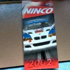 Scalextric: FOLLETO NINCO 2002. Lote 140833608