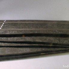Scalextric - Lote 6 pistas rectas Scalextrix standard. PT60. Años 70 - 65981102