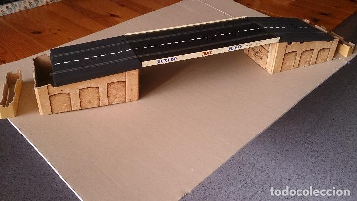 Puente scalextric triang tipo rubber mm/t25 - Vendido en