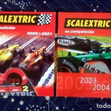 Scalextric - 2 catálogo Scalextric España años 2000-2001 2003-2004 - 68097037