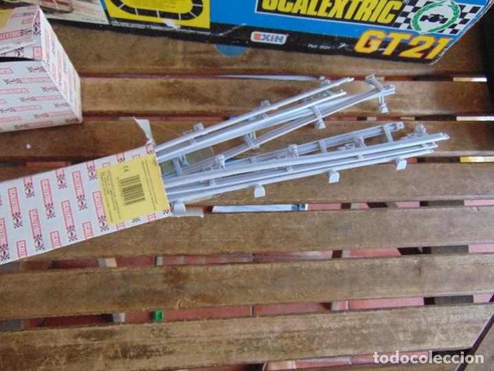 Scalextric: CIRCUITO CAJA DE SCALEXTRIC EXIN GT 21 CON LOS PORSCHE 959 ROJO Y BLANCO - Foto 3 - 68530949