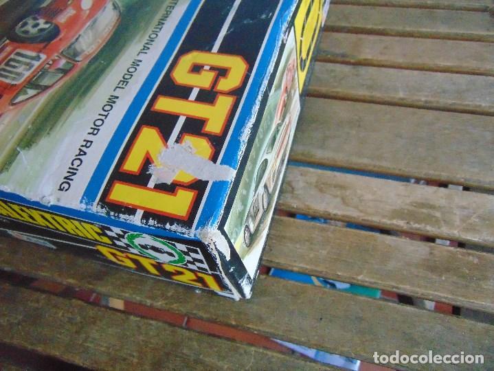 Scalextric: CIRCUITO CAJA DE SCALEXTRIC EXIN GT 21 CON LOS PORSCHE 959 ROJO Y BLANCO - Foto 8 - 68530949