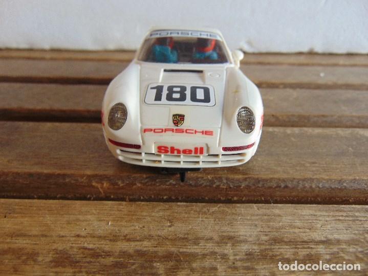 Scalextric: CIRCUITO CAJA DE SCALEXTRIC EXIN GT 21 CON LOS PORSCHE 959 ROJO Y BLANCO - Foto 20 - 68530949