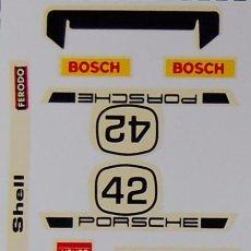 Scalextric: PORSCHE CARRERA RS CALCAS AL AGUA SCALEXTRIC EXIN. Lote 195275612