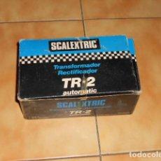 Scalextric: TR2 AUTOMATIC TRANSFORMADOR SCALEXTRIC EXIN VINTAGE CON CAJA ORIGINAL FUENTE ALIMENTACIÓN. Lote 71222657