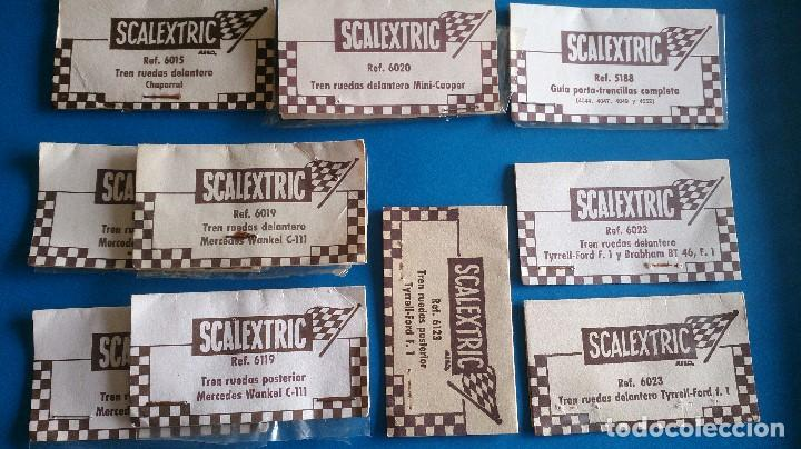 Scalextric: LOTE ETIQUETAS BOLSAS SCALEXTRIC - Foto 3 - 74716671
