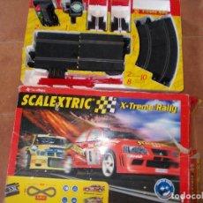 Scalextric: SCALEXTRIC X-TREME RALLY CAJA CON TODO FUNCIONANDO SIN COCHES. Lote 78103709