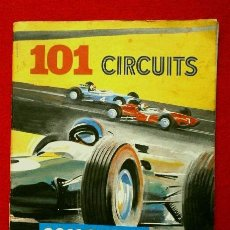 Scalextric: SCALEXTRIC TRIANG - 101 CIRCUITS FOR SCALEXTRIC DRIVERS (AÑOS 60) -EN INGLÉS- CIRCUITOS. Lote 84786788