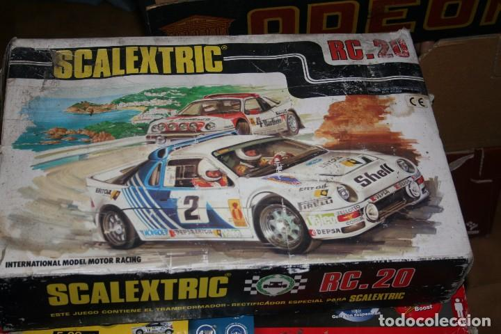 Scalextric: caja scalextric rc.20 antigua - Foto 1 - 79905329