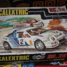 Scalextric: CAJA SCALEXTRIC RC.20 ANTIGUA. Lote 79905329