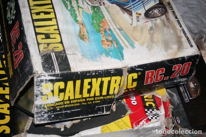 Scalextric: caja scalextric rc.20 antigua - Foto 8 - 79905329