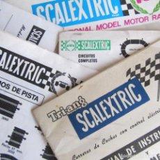 Scalextric: CONJUNTO DE DOCUMENTOS DE SCALEXTRIC. Lote 83429092