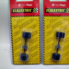 Scalextric: SCALEXTRIC. 2 EJES TRASEROS TYPO 9 DOME. Lote 118495122