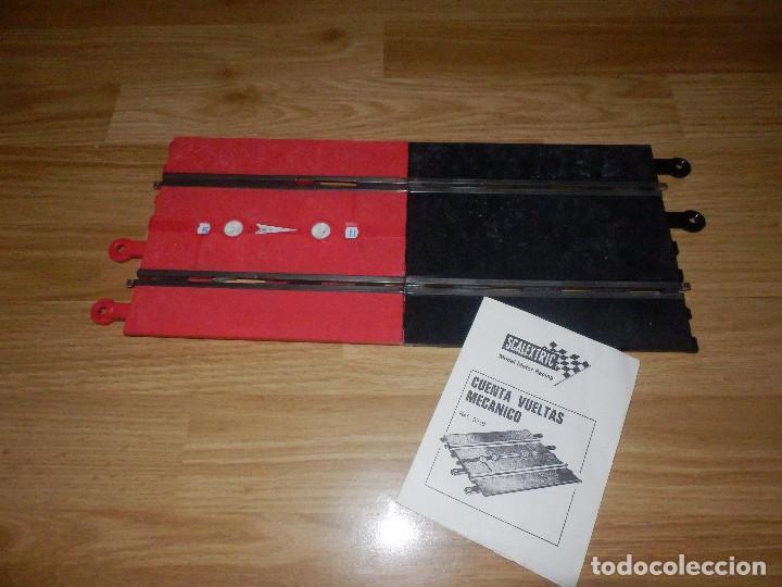 Scalextric: Cuenta Vueltas + 1 Tramo de compensación + Instrucciones - Pista Scalextric - Exin - - Foto 2 - 84780608