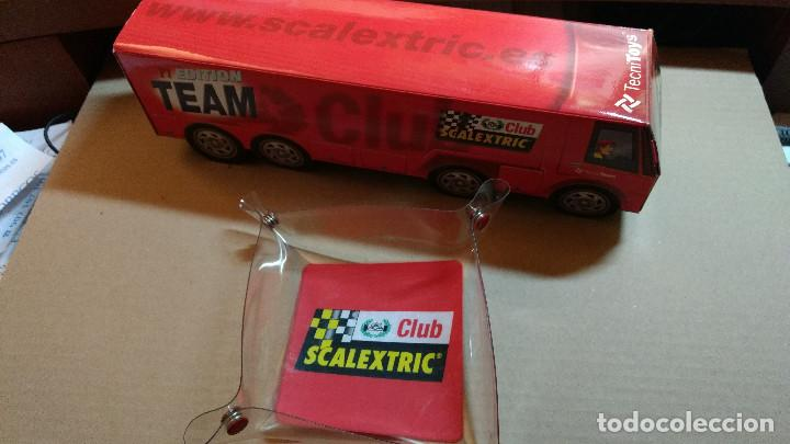 Scalextric: CLUD SCALEXTRIC CENICERO O CAJA Y CAMION CARTON - Foto 1 - 84876152