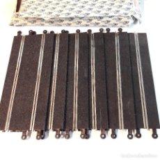 Scalextric: 6 PISTAS TRAMO RECTASTANDART 350M/M REF.3060, SCALEXTRIC, EN CAJA SIN USO. Lote 98608514
