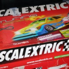 Scalextric: CAJA SCALEXTRIC TUNING SIN COCHES. Lote 88275228