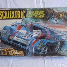 Scalextric: CIRCUITO SCALEXTRIC EXIN GP 25, CAJA VACIA. Lote 88996280