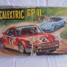 Scalextric: CIRCUITO SCALEXTRIC EXIN GP 11, CAJA VACIA. Lote 88996556