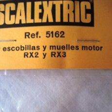 Scalextric: SCALEXTRIC PAR ESCOBILLAS Y MUELLES MOTOR RX2 Y RX3 ¡¡NUEVO!! ORIGINAL. AÑOS 80. Lote 93299959