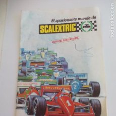 Scalextric: GUIA DEL SCALEXTRISTA. EXIN. CATÁLOGO COCHES, PISTAS, ACCESORIOS . 1989 SCALEXTRIC.. Lote 90391576