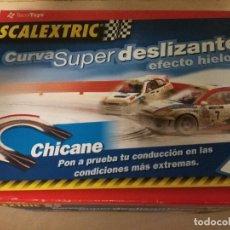 Scalextric: SCALEXTRIC CURVA SUPER DESLIZANTE EFECTO HIELO COMO NUEVO EN SU CAJA. Lote 88919188