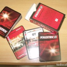 Scalextric: BARAJA SCALEXTRIC POKER COLLECTION 54+1 CARTAS SIN USAR. Lote 92077210