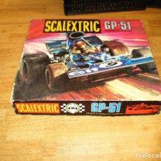 Scalextric: SCALEXTRIC EXIN CIRCUITO GP 51 CON CAJA ORIGINAL COCHES INSTRUCCIONES MANDOS DOCUMENTACION MANDOS. Lote 97110643