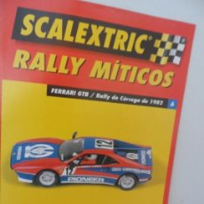 Scalextric: SCALEXTRIC RALLY MITICOS Nº 6. Lote 99310079