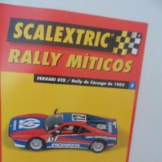 Scalextric: SCALEXTRIC RALLY MITICOS Nº 5. Lote 99310195