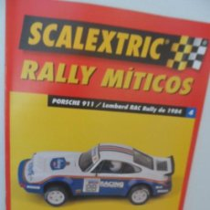 Scalextric: SCALEXTRIC RALLY MITICOS Nº 4. Lote 99310419