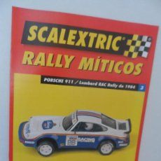 Scalextric: SCALEXTRIC RALLY MITICOS Nº 3. Lote 99310507