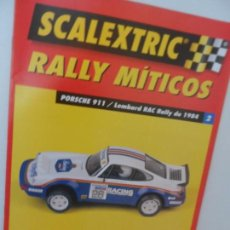 Scalextric: SCALEXTRIC RALLY MITICOS Nº 2. Lote 99310567
