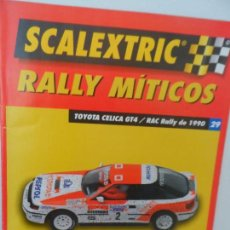 Scalextric: SCALEXTRIC RALLY MITICOS Nº 29. Lote 99310867