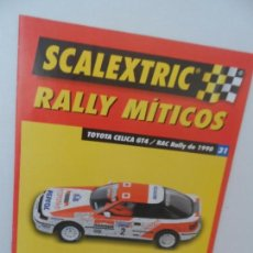 Scalextric: SCALEXTRIC RALLY MITICOS Nº 31. Lote 99311043