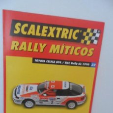 Scalextric: SCALEXTRIC RALLY MITICOS Nº 32. Lote 99311127