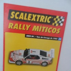 Scalextric: SCALEXTRIC RALLY MITICOS Nº 33. Lote 99316507