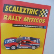 Scalextric: SCALEXTRIC RALLY MITICOS Nº 7. Lote 99316551