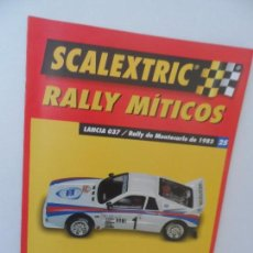 Scalextric: SCALEXTRIC RALLY MITICOS Nº 25. Lote 99317147