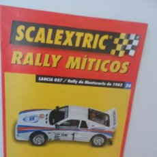 Scalextric: SCALEXTRIC RALLY MITICOS Nº 26. Lote 99317203