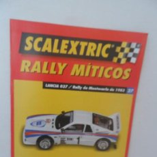 Scalextric: SCALEXTRIC RALLY MITICOS Nº 27. Lote 99317251