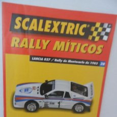 Scalextric: SCALEXTRIC RALLY MITICOS Nº 28. Lote 99317319