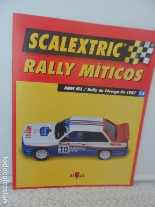 SCALEXTRIC RALLY MITICOS Nº 15 (Juguetes - Slot Cars - Scalextric Pistas y Accesorios)