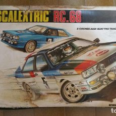 Scalextric: CIRCUITO SCALEXTRIC RC 68 - SIN COCHES. Lote 99446631