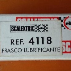 Scalextric: SCALEXTRIC. FRASCO LUBRICANTE REF. 4118. Lote 102988507