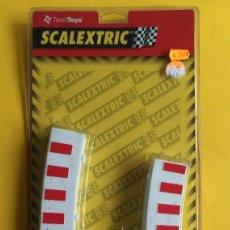 Scalextric: SCALEXTRIC - SCX ACCESORIOS TECNITOYS - REF. 8611 BORDES PARA 4 CURVAS SUPER EXTERIOR. Lote 198591115